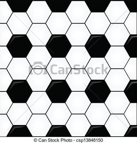 clipart vector  soccer ball seamless soccer ball