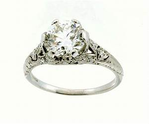 vintage diamond engagement rings understanding four eras With vintage diamond wedding ring