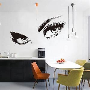 Aliexpress buy big eyes wall sticker home decal