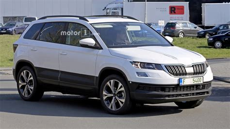 Yeti Usa by 2018 Skoda Yeti Karoq Spied Up With Clever Disguise