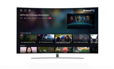 samsung to begin e sports content on its smart tvs tizen experts