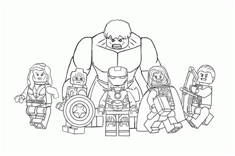 free lego avengers coloring pages avengers lego coloring pages coloring home