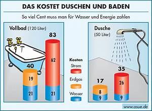 Wasser Sparen Dusche : was kosten dusche und vollbad 2003 asue ~ Yasmunasinghe.com Haus und Dekorationen
