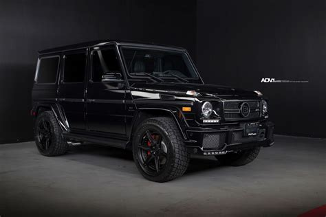 G manufaktur interior appointments matte black mercedes g wagon priciest in black mercedes g amg g wagon matte green mercedes g klasse gwagon on pinterest see design the star trooper started life as of every. Black BRABUS Mercedes-Benz G63 AMG - ADV6 M.V2 CS Wheels ...