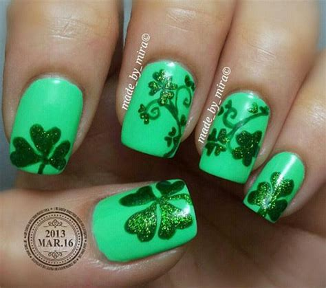 st patricks day nail designs 50 best st s day nail designs ideas trends
