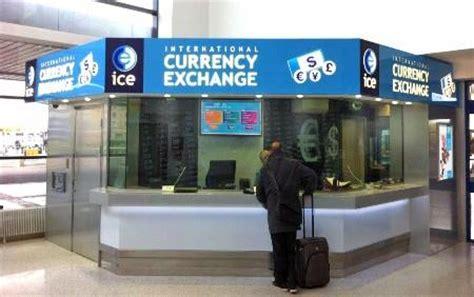 exchange bureau de change currency exchange belfast international airport