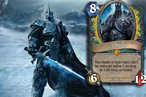 Mage Hearthstone Deck Lich King by ล อสน น Return Of The Lich King ภาคเสร มใหม Hearthstone