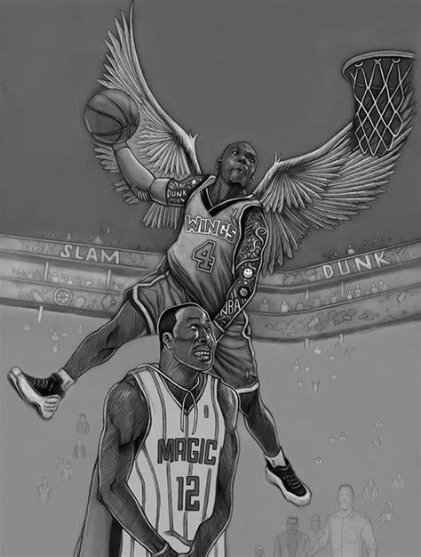 fantastic basketball drawings
