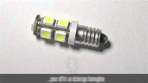 Ampoule Led Type E10, Composée De 9 Leds Smd 5050