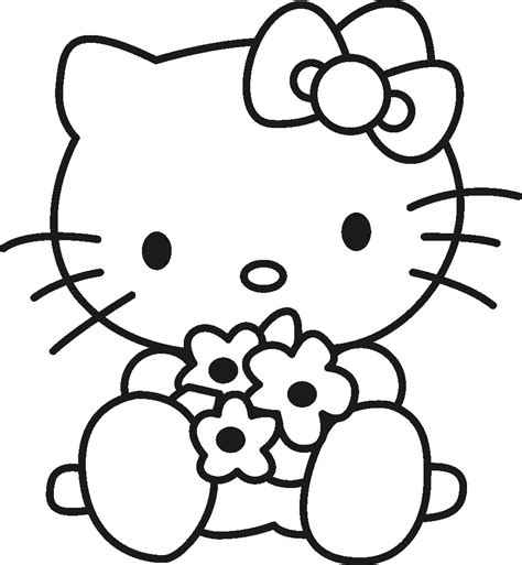 hello kitty free coloring pages hello kitty coloring pages bestofcoloring