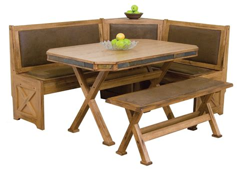corner bench table diy breakfast nook table with cross x legs and banquette