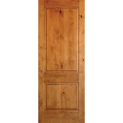 Prehung Interior Doors by Krosswood Doors 32 In X 80 In Rustic Knotty Alder 2