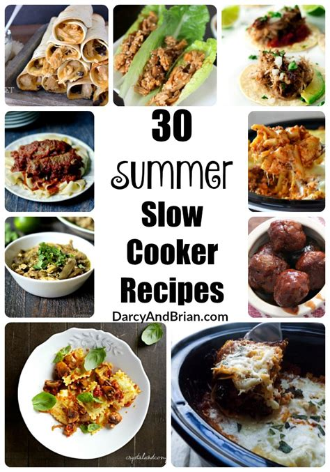 summer cooker recipes 30 summer slow cooker recipes 187 life with darcy and brian