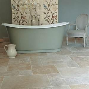 Tile floors vs linoleum the bathroom vanity shower for Fitting lino in bathroom