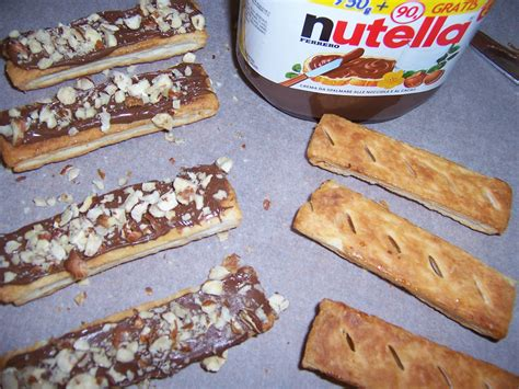 sfogliatine con nutella puff pastry sticks with nutella an american in sicily
