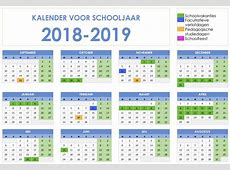 Overzicht schooljaar 20182019 Crea 16