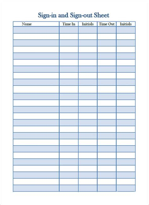 sign  sheet template    documents