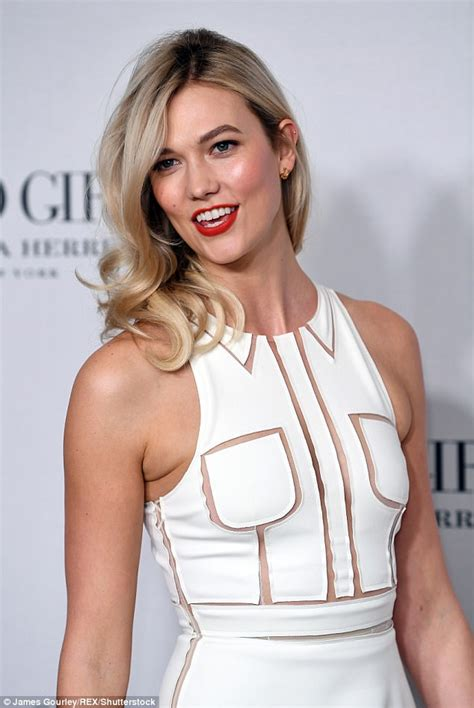 Karlie Kloss Rocks Quirky Cut Out Dress Perfume Launch