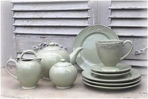 Steingut Geschirr Landhaus : geschirrservice landhaus service keramik keramikservice shabby teller vintage ebay ~ Frokenaadalensverden.com Haus und Dekorationen