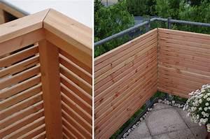 Balkonverkleidung Aus Holz : sonderma ist bei uns standard ~ Lizthompson.info Haus und Dekorationen