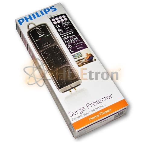 surge philips protector theater pure power adapters cables above double