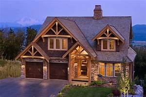Mountain View Timber Frame Home