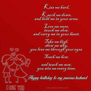 happy birthday poems for him | Birthday Poems For Her and ...