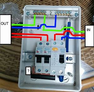 How To Wire Rcbo In Consumer Unit Uk Wiring Youtube Throughout Shed Diagram  U2013 Volovets Info