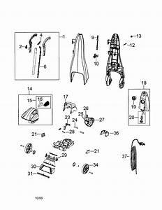 Bissell Bissell Quicksteamer Upright Deep Cleaner Parts