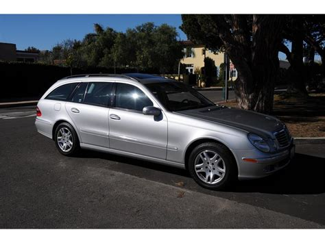 This 2004 mercedes benz e320 4matic is a must see. 2004 Mercedes-Benz E320 Wagon 4matic for Sale   ClassicCars.com   CC-1167869