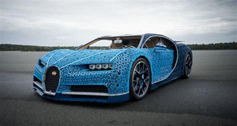 lego built  bugatti chiron      coolest