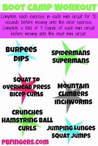 Collection Of Boot Camp Workouts