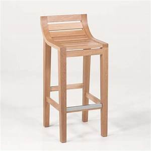 Tabouret Bar Bois : tabouret de bar ou snack contemporain en bois massif ref 471 4 pieds tables chaises et ~ Teatrodelosmanantiales.com Idées de Décoration