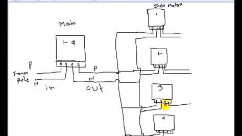 electric meter wiring diagram wiring diagram
