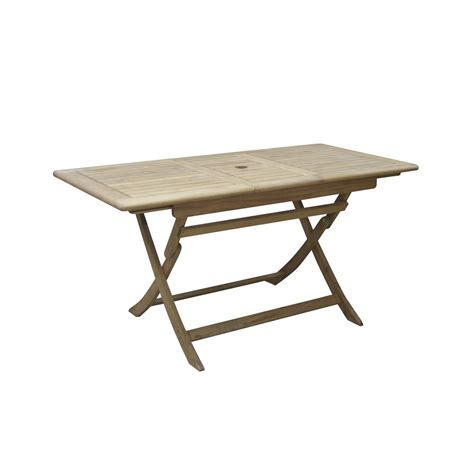 Salon De Jardin Bois Table Pliante