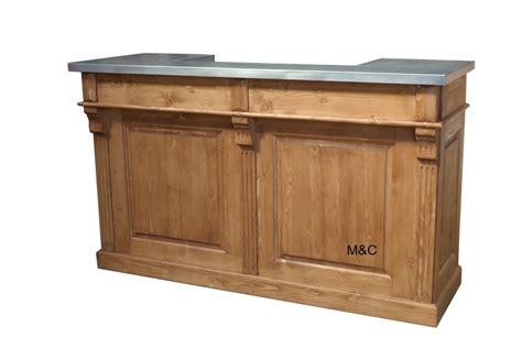 cuisine et comptoir avignon comptoir de bar plateau zinc