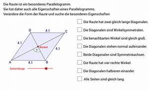 Rechten Winkel Berechnen Mit Zollstock : raute eigenschaften geogebra ~ Themetempest.com Abrechnung