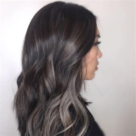 Charcoal Hair Dye by 50 Fab Highlights For Brown Hair Hair Motive Hair
