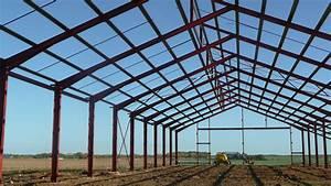 Batiment Moins Cher Hangar : charpente m tallique en kit charpente metallique en kit ~ Premium-room.com Idées de Décoration