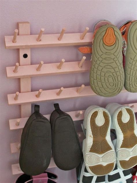 clever ways  store  shoes