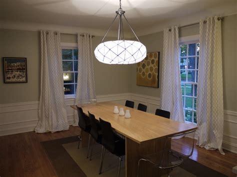 dining room curtain length dining room curtain length