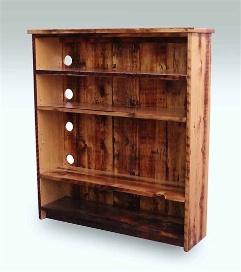 Reclaimed Handmade Pine Bookcase Olde Good Things
