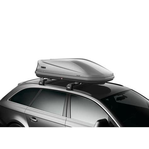 coffre de toit 400l coffre de toit taille m thule touring 200 gris 400 l norauto fr