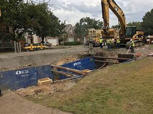 Water district crews work to repair section of Crystal ...