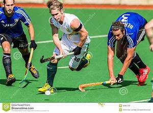 Hockey Mens Argentina Plays South Africa Editorial Image ...