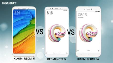 xiaomi redmi 5 vs redmi note 5 vs redmi 5a clash of
