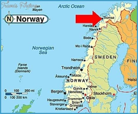 Tromso Northern Lights by Tromso Norway Map Travel Map Vacations