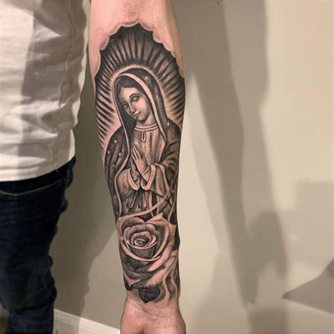 Virgen De Guadalupe Tattoo On Forearm Best Tattoo Ideas