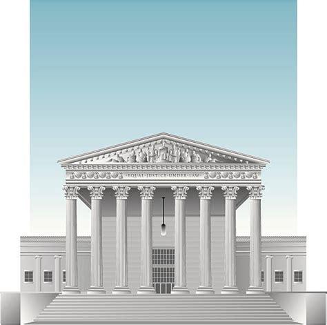 Supreme Court Clipart Royalty Free Us Supreme Court Building Clip Vector