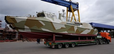 Russian Raptor Boats by Jsc Pella Shipyard Launched First Project 03160 Raptor